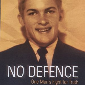 No Defence Front Cover